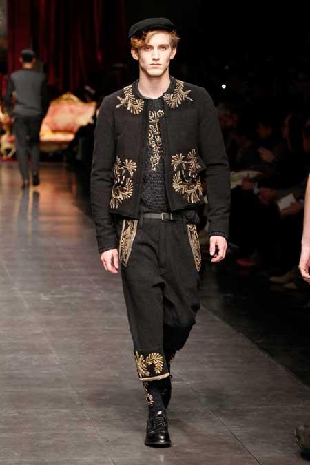 Dolce & Gabbana Winter 2013 Collection Milan - D&G