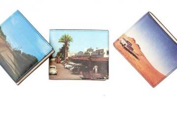 Jack Spade Landscape Print Wallet