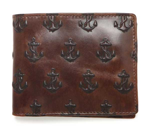 Jack Spade Wallet Anchors - Sailors type