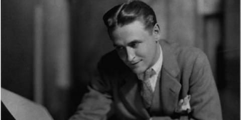F.Scott Fitzgerald, 1920′s fashion icon