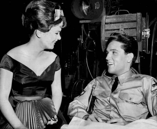 Elvis Presley Fashion Icon of Rock and Roll - wearing a uniform