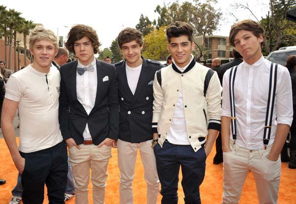 One Direction 2012 - Blazers