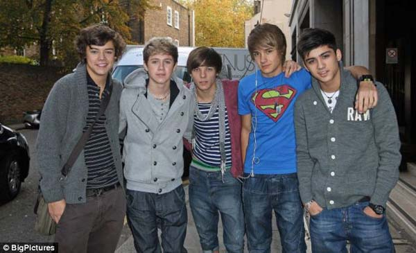 One Direction 2012 Casual Wear