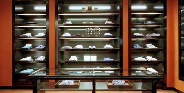 santa eulalia barcelona fashion store men's section 6