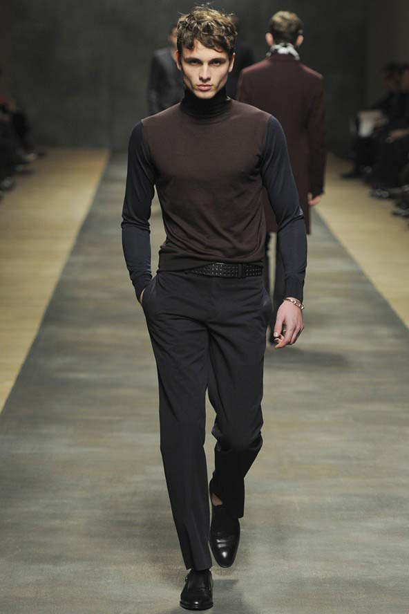 Steve McQueen inspired fashion - the roll neck