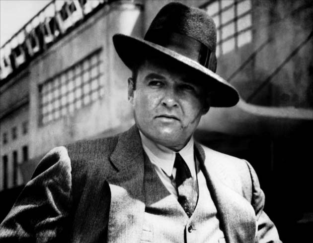 Al Capone, lived and dressed the 1920's gangster life