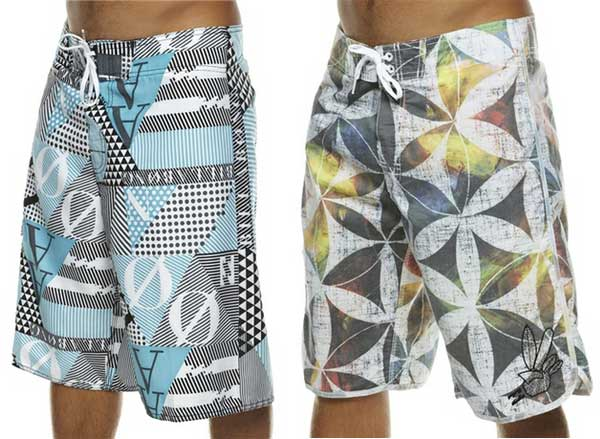 Billabong boardshorts 2012 colourful