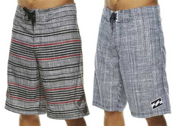 Billabong boardshorts 2012 stripes