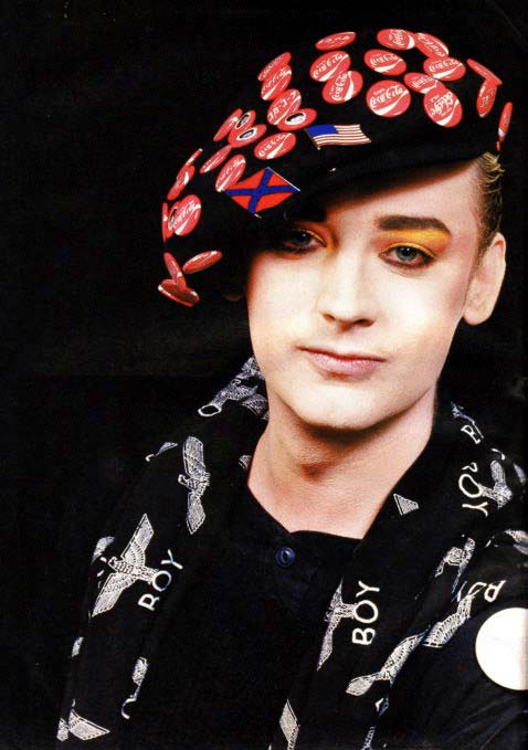 Boy George.hats