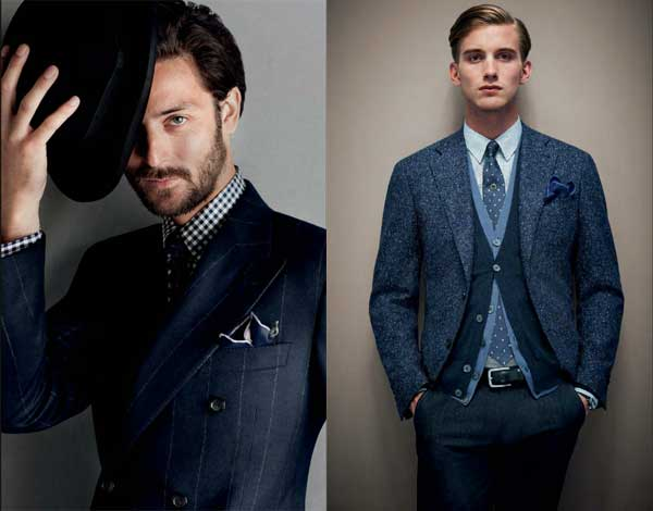 Canali Autumn Winter 2012 2013 collection 9