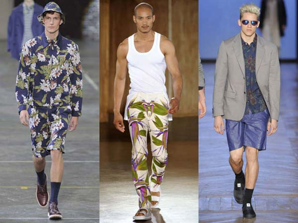 Givenchy Men floral pants, shorts , shirts