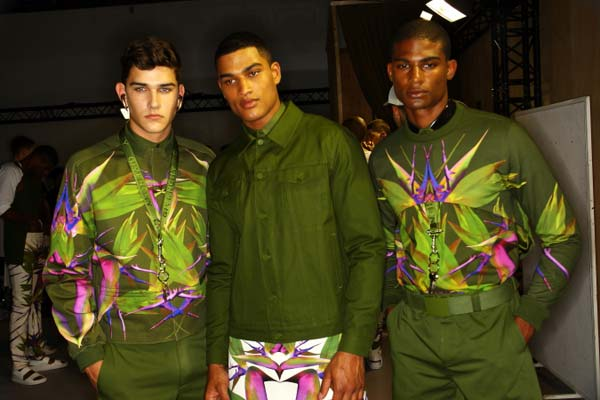 Givenchy Spring Summer 2012 - skirts for men