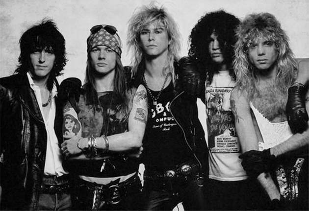 guns and roses style