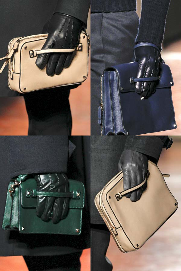 Valentino Fall 2012 man bag