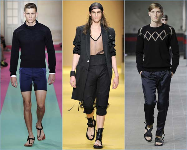acne mens sandles 2012