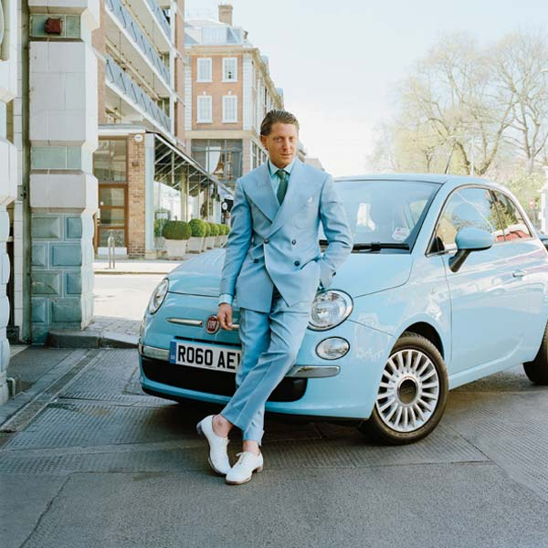 Blue Suits For men - Fiat 500