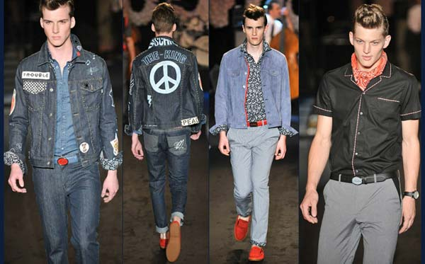 denim rockabilly, men 2012