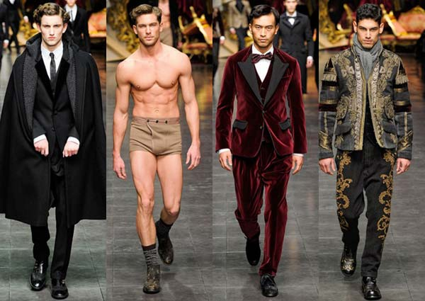 Dolce and Gabbana 2012 winter collection