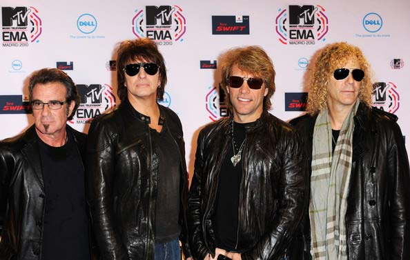 jon bon jovi 2012,band members
