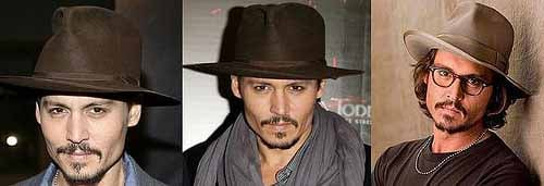 Johnny Depp.hats