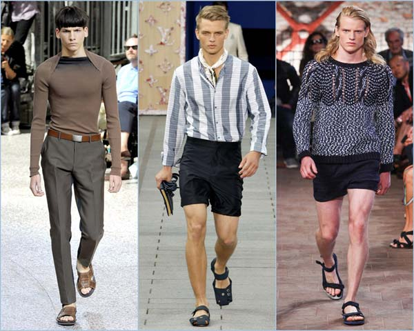 lanvin and louis-vuitton-mens-sandles 2012