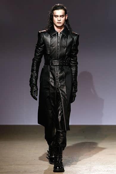 matrix leather jacket by Garteh Pugh