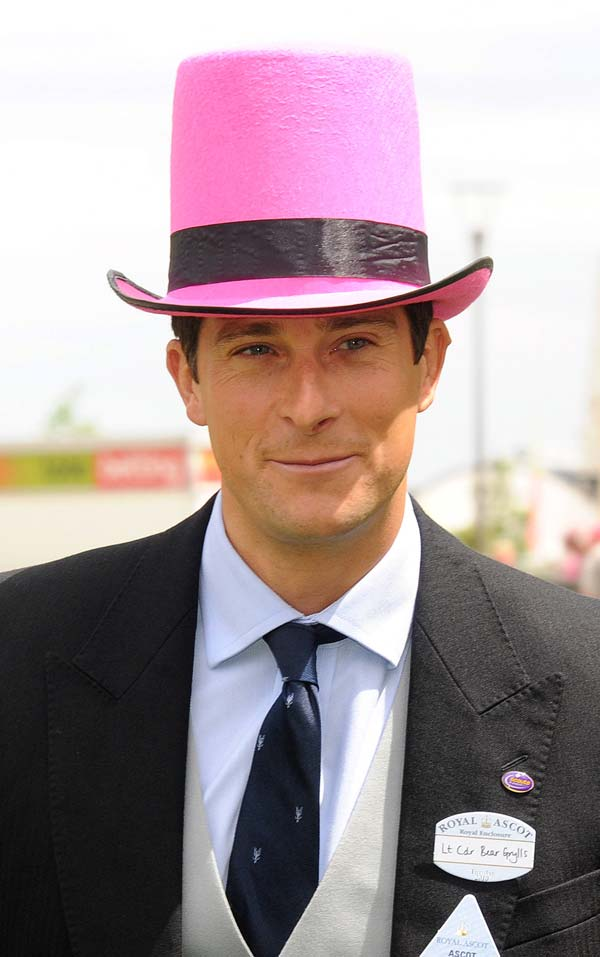 pink top hat - royal ascot