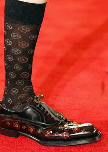 Prada floral shoes for men