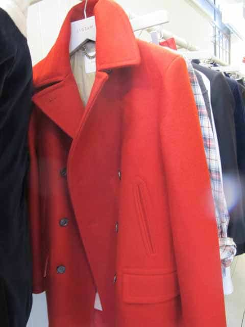 red mens jacket,jigsaw