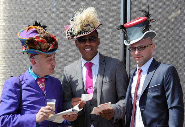 Exquisite hats shown at Royal Ascot