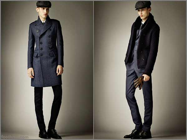 Burberry Prorsum - Pre Fall 2012 Menswear Collection