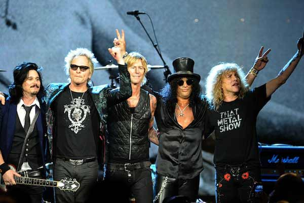 guns and roses touring
