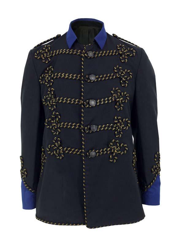Priestleys Vintage Mens Black Military Jacket