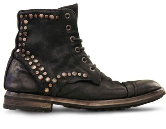 dolce-gabbana-black-studded-waxed-calfskin-low-boots