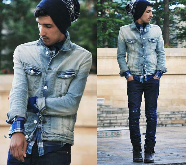 Jeans Jacket Mens Photo Album - Reikian