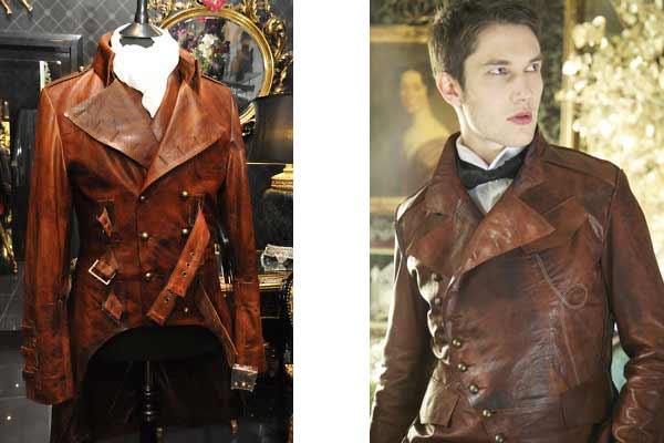 leather military jacket