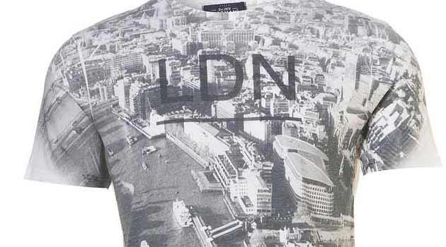 london olympic t-shirt topman