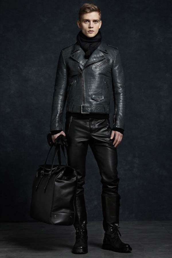 Belstaff winter aviator leather jacket