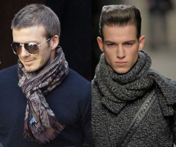 Mens Scarves  Why Wear a Scarf  Men Style Fashion How To Wear Winter Scarves For Men