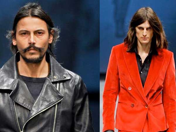 Long hair is back for men 2013 - from the catwalk