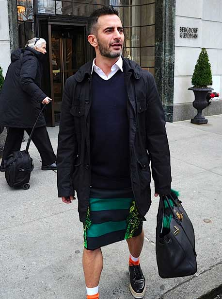 Marc Jacobs Wearing Prada Brogues