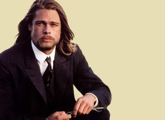 Men's Long Hairstyle 2012, brad pitt