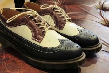 blue-white-Dr.Martens-brogue