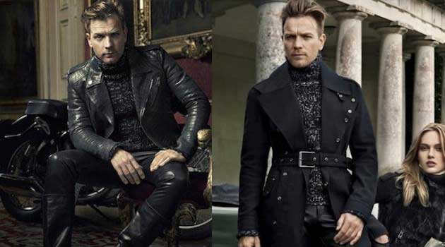 ewan mcgregor - modeling for Belstaff 2012
