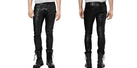 Leather Trousers - how to wear them