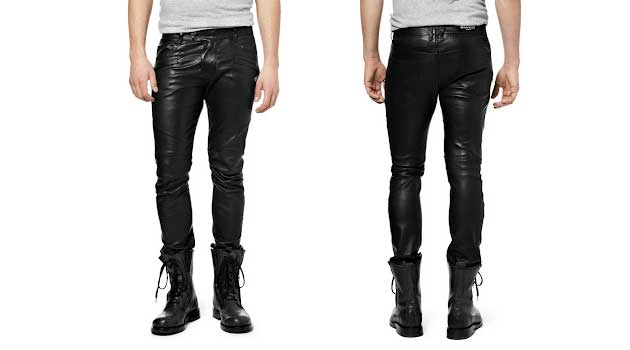 Men's Leather Trousers - Do Men Look Good In Leather Trousers ...