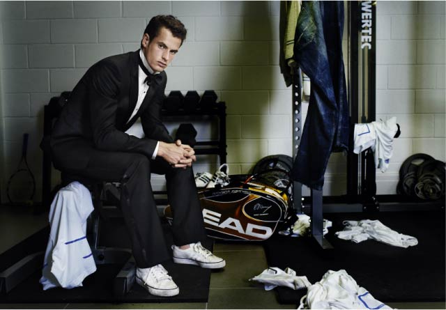 Andy Murray in a Suit
