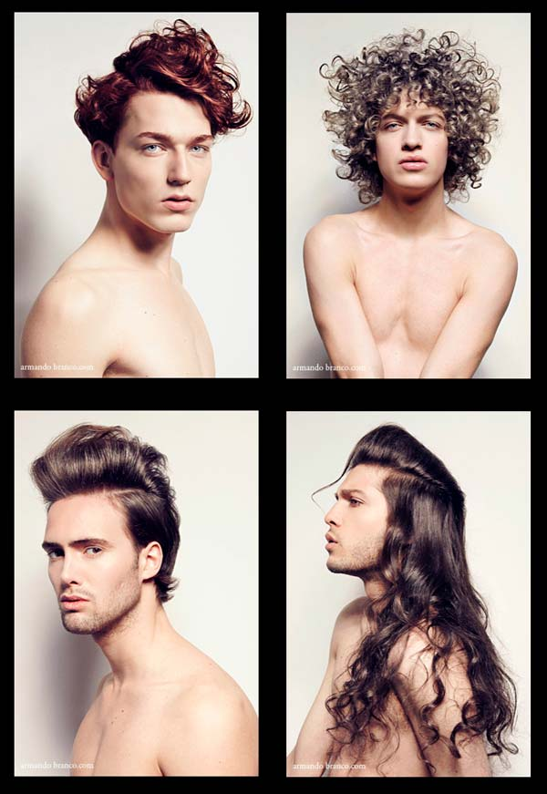 men pubic hairstyles Book Covers