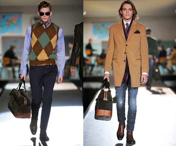 dsquared2,-winter-collection-2012,-over-coat.-checked