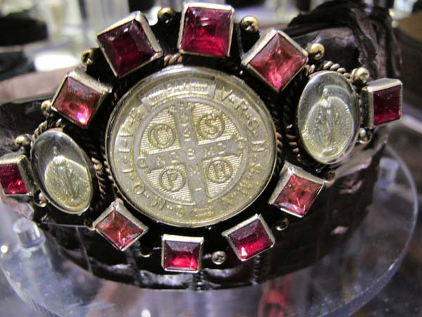 elliot-rhodes,-Harrods-belts-and-buckles,religious-icons